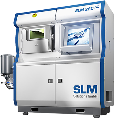 SLM 280 machine